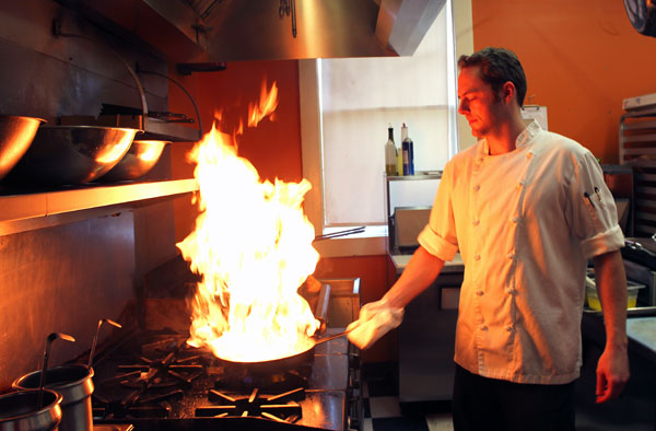 Executive Chef Nathan T. Breeding at House on Main in Abingdon Virginia