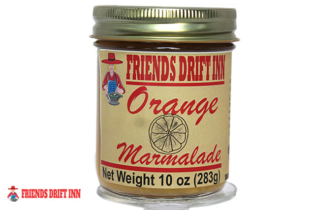 Jar of Orange Marmalade made by Friends Drift Inn