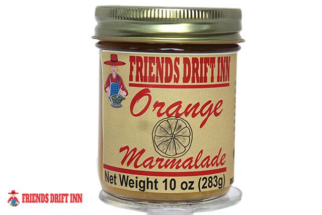 Jar of Orange Marmalade made by Friends Drift Inn