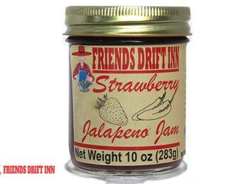 Strawberry Jalapeno Jam - a pepper jam from Friends Drift Inn