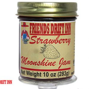 Strawberry Moonshine Jam by Friends Drift Inn