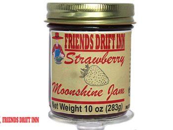 Strawberry Moonshine Jam by Friends Drift Inn