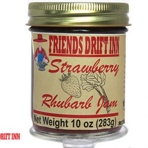 Strawberry Rhubarb Jam by Friends Drift Inn