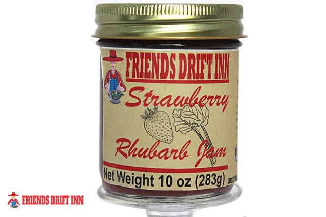 Strawberry Rhubarb Jam by Friends Drift Inn