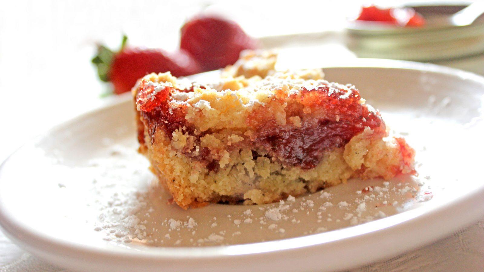 Strawberry Jam Bar Cookie Recipes