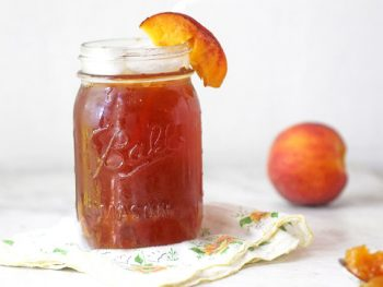 Sweet Peach Bourbon Tea