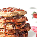 Spiced Apple Butter Pancakes with Streusel Recipe Friends Drift Inn