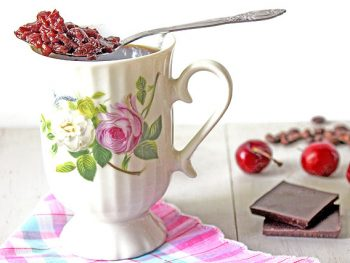 Chocolate Cherry Jam reduces bitterness in coffee drinks