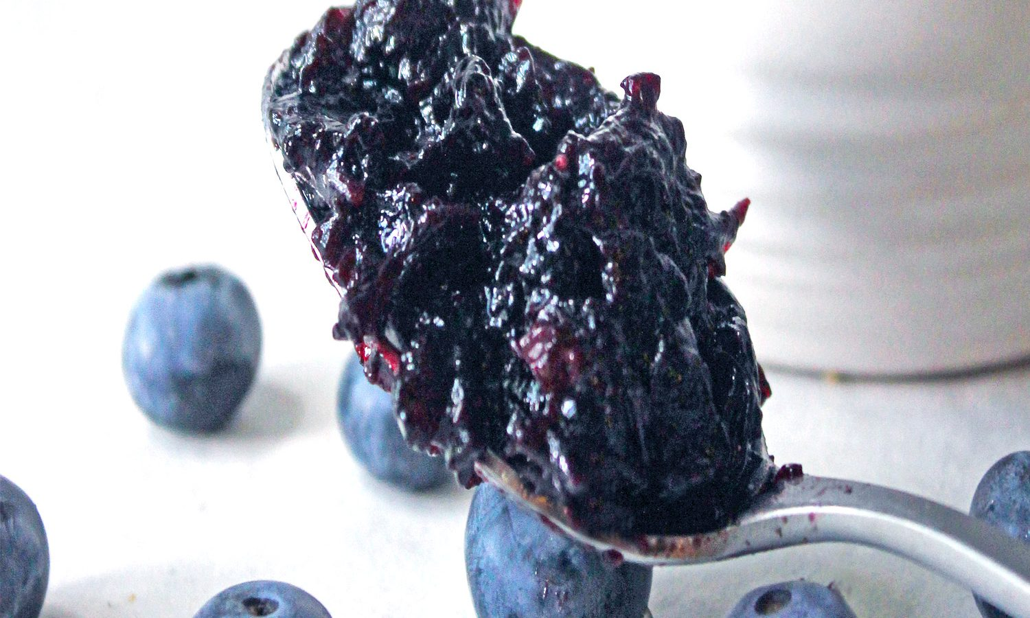 Blueberry Jam Uses - Spoon it up!