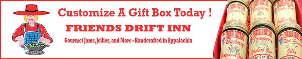 Banner with link to Friends Drift Inn Gift Collections