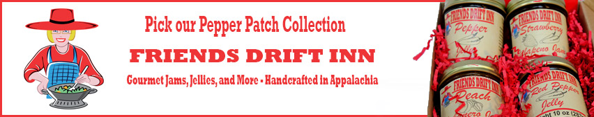 Call to Action - Link to Friends Drift Inn Pepper Patch Gourmet Pepper Jam and Jelly Gift Collection