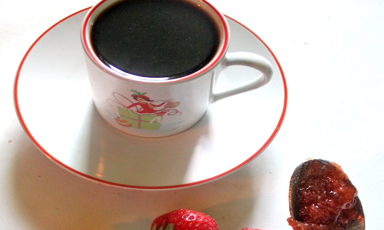 Coffee with jam!
