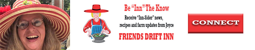 Connect with Joyce at Friends Drift Inn
