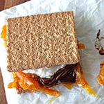 S'mores Recipe with Orange Marmalade