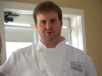 Chef Ashby at Woodford portrait| Friends Drift Inn