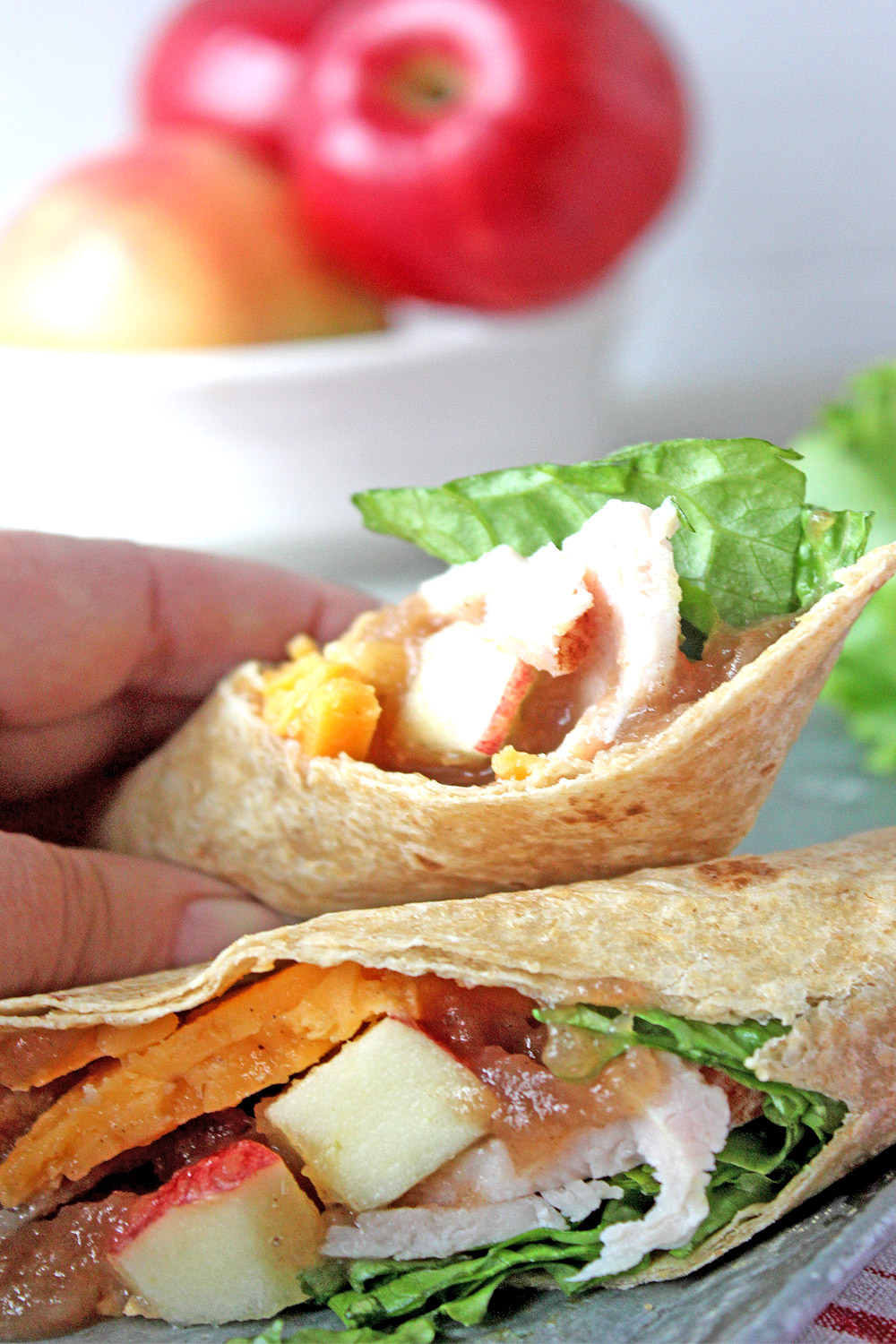 Grab our turkey wrap recipe and make one for yourself!
